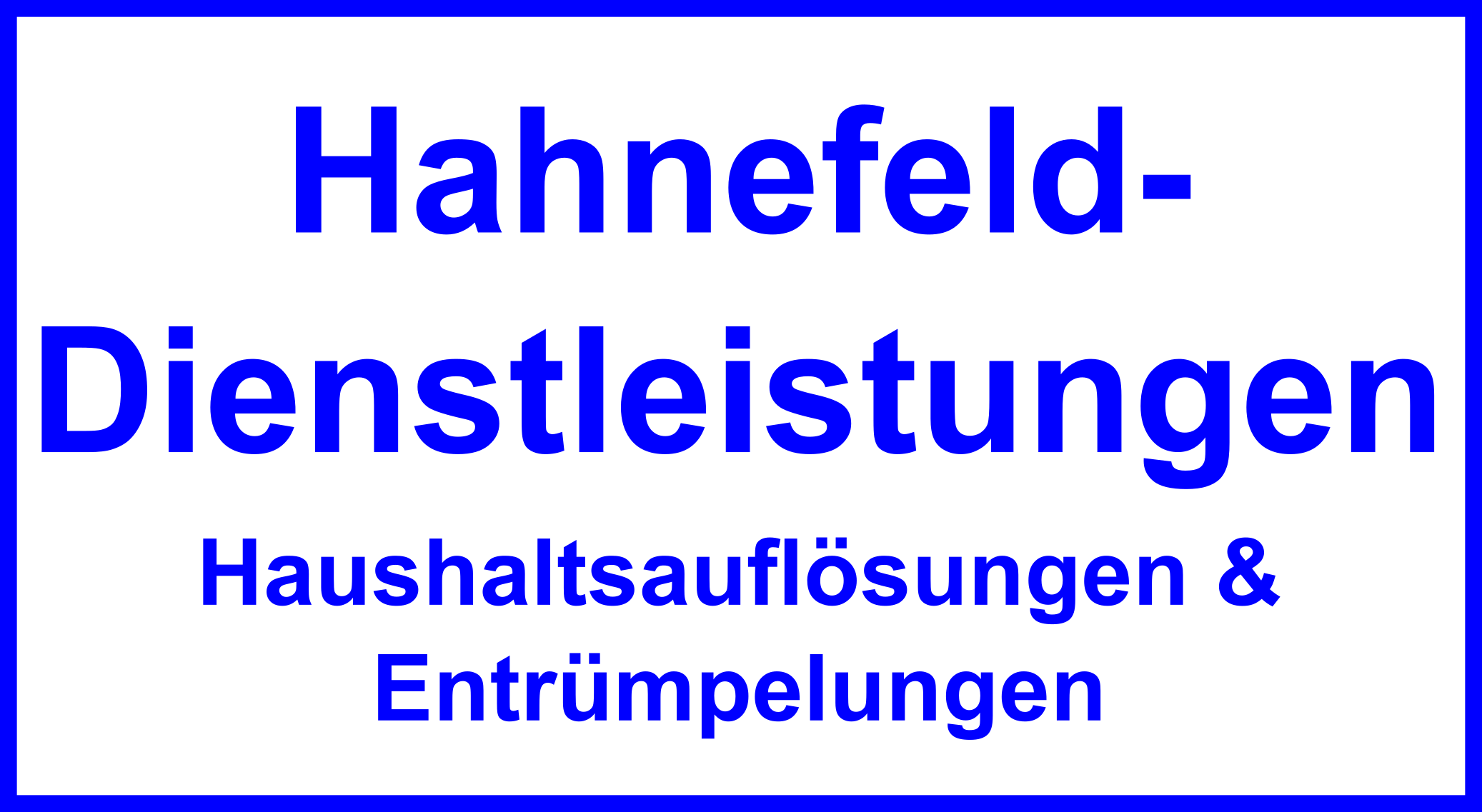 Haushaltsauflösung Wohnungsauflösung Entrümpelung in OPR Brandenburg